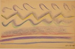 """""""Ebb and Flow"""" original pastel drawing by Sylvia Spicuzza"""
