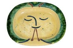 """""""Diaule Player (Flute Player)"""" original 1947 Picasso ceramic"""