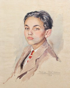 Portrait of Suited Boy