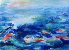 Roberta Tetzner, Holiday Memory 1, Original Contemporary Abstract Painting