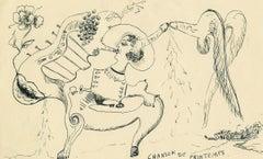 Chanson de Printemps - Erotic Cadavre Exquis Designed by a Surrealist Artist