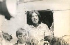 Vintage Photo of Mick Jagger - 1970s