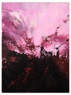 The Birth of Passion - Acrylic on Canvas by Elena Ksanti - 2019