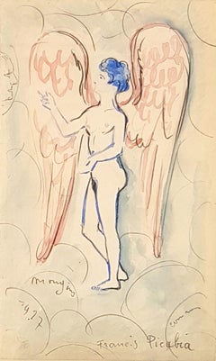 Figurative Drawings and Watercolors
