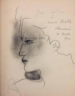 Le Mystère laïc -Illustrations by De Chirico and Original Drawings by J. Cocteau