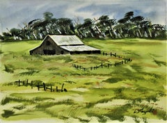 Landscape with Barn III
