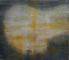 Penelope's weaving 3 (contemporary semi-abstract painting)