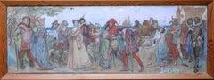 The Procession - British Edwardian art A Midsummer Night's Dream Shakespeare