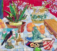 Studio Still Life, Oil Painting