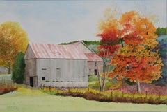 Abandoned Homestead, Original Painting