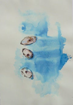 3 Crassostrea Virginica, Abstract Painting