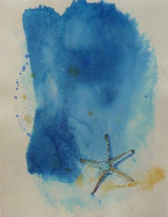 Sea Star, Abstract Painting
