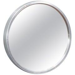 AB Markaryd Round Wall Mirror by Nils Troed