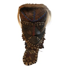 African Kuba Bwoom Royal Tribal Mask