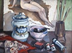 The Artist's Studio - A Still Life