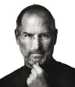 Steve Jobs  – Albert Watson,  Photography, Portrait, Black and White, Steve Jobs