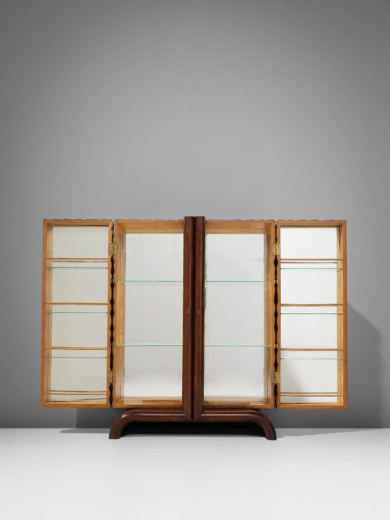 Aldo Tura Bar Cabinet in Cherry For Sale 4