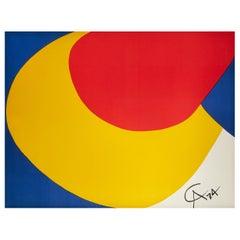 Alexander Calder 'Flying Colors' Lithograph
