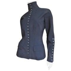 Alexander McQueen New Pinstripe Jacket 1990s