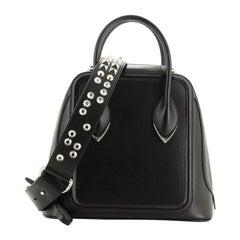 Alexander McQueen Pinter Top Handle Bag Leather