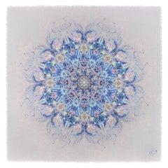 "ALEXANDER McQUEEN S/S 2010 ""Plato's Atlantis"" Jellyfish Silk Fringe Shawl Scarf"