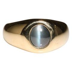 Alexandrite Cat's Eye Ring