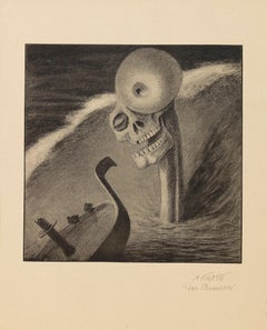 Faksimiledrucke Nach Kunstblättern - Suite of Heliogravures After A. Kubin -1903