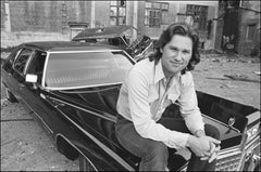 Kurt Russel Escape From New York Limo -  Fine Art Limited Edition B&W Print