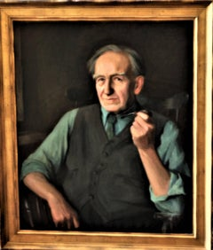 Portrait of Eugene Higgins, Age 80.