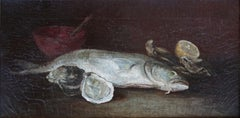 Rainbow Trout & Oyster Still Life, 1910