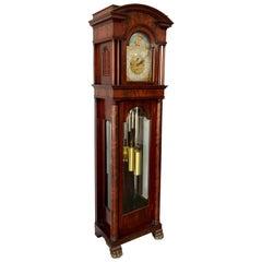 American Waltham Nine Tube Longcase Grandfather Clock