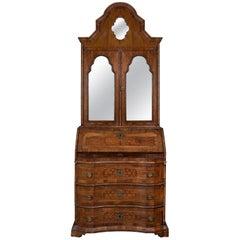 An 18th Century Italian Marquetry Inlaid Bureau Cabinet