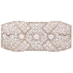 Early 20th Century Diamond Brooch
