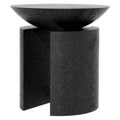 Anca Sculptural Side Table or Stool in Tropical Hardwood by Pedro Paulo Venzon
