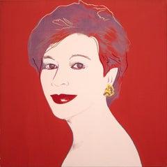 Portrait of Dorothy Blau-Red