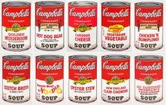 Campbell ́s Soup II (F. & S. II. 54-63 Ten screen prints), 1969