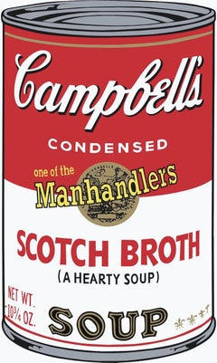Campbell's Soup II:  Scotch Broth, Andy Warhol