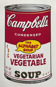 Campbell's Soup II: Vegetarian Vegetable, Andy Warhol