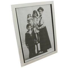 Antique George V Sterling Silver Photograph Frame