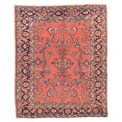 Antique Handmade Lillihan Persian Rug