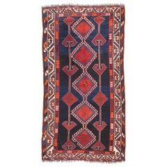Antique Handmade Lori Persian Rug