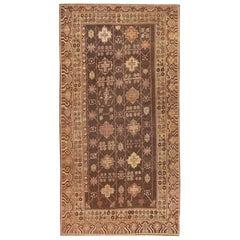Antique Khotan Rug. Size: 5 ft 1 in x 10 ft 3 in (1.55 m x 3.12 m)