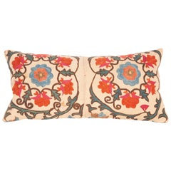 Antique Mini Pillow Case Fashioned from a 19th Century Bukhara Suzani