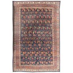 Antique Oversize Persian Bidjar Rug, circa 1880