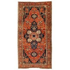 Antique Persian Serapi Carpet, circa 1880-1900