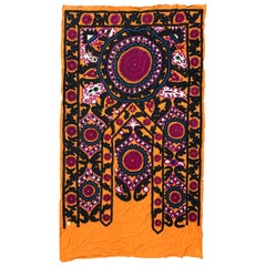 Antique Uzbek Suzani Embroidery