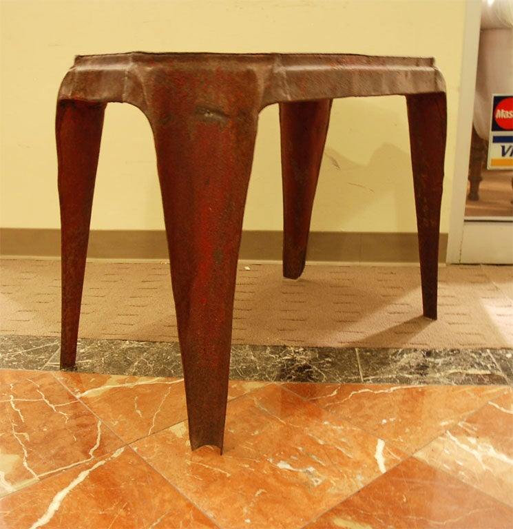 Unusual Metal Coffee Table