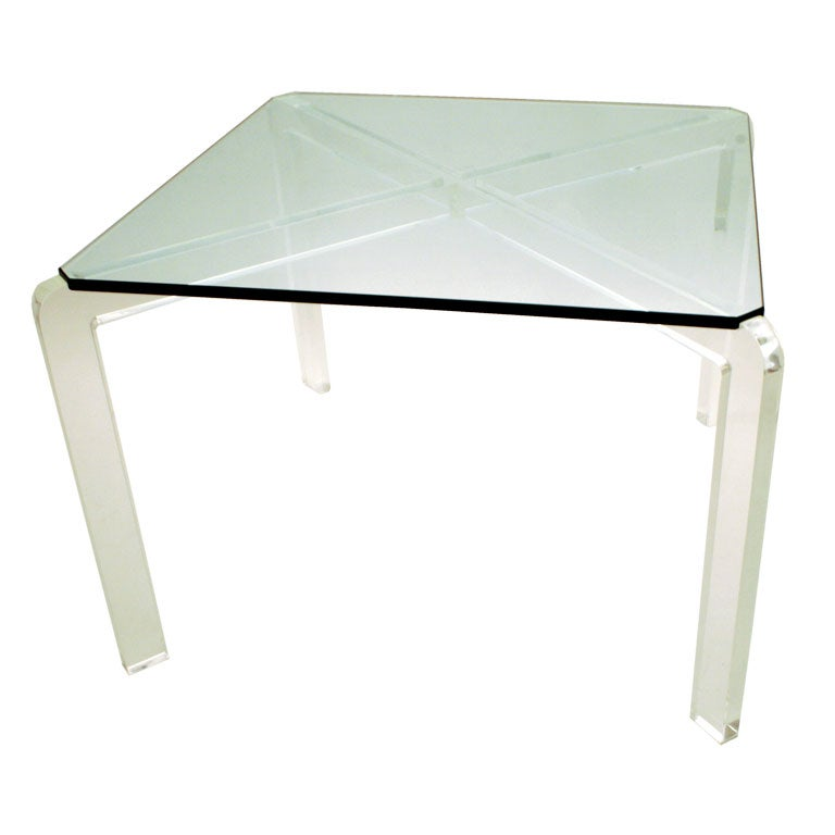 Lucite table