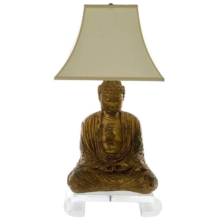 Buddha Lamp At Stdibs