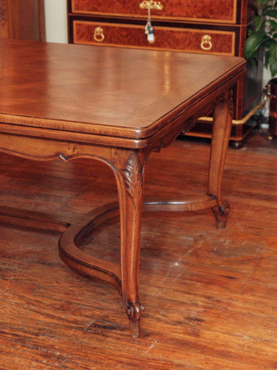 Antique oak dining